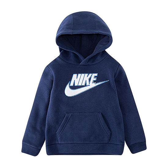 Nike Boys Fitted Sleeve Hoodie-Toddler