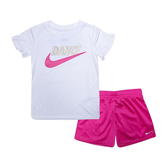 Nike Girls 2-pc. Short Set
