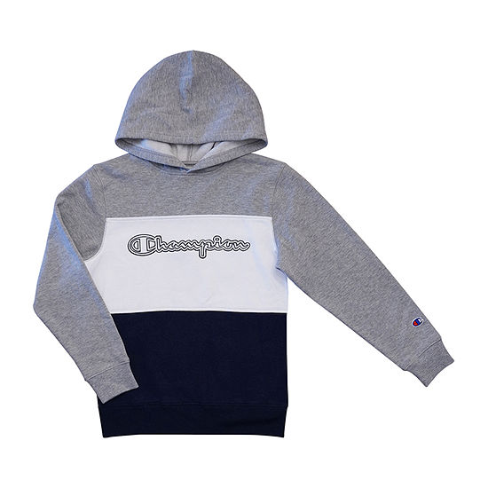 Champion Colorblock Hoodie Boys Hoodie-Toddler
