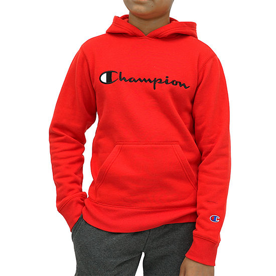 Champion Core Embroidered Hoodie Boys Hoodie-Big Kid