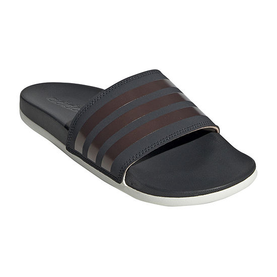 adidas Womens Cloudfoam Adilette Slide Sandals