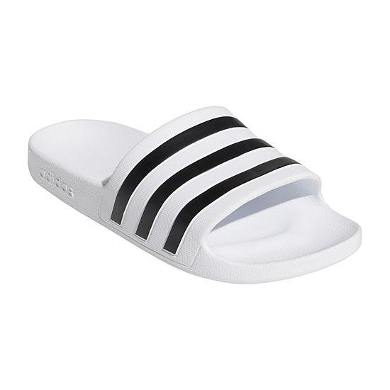 adidas Womens Adilette Aqua Sandal Slide Sandals