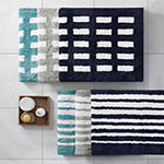 Madison Park Aster Reversible Bath Rug