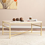 Mevi Faux Stone Coffee Table