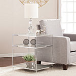 Davola Mirrored Side Table