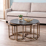 Dianto Round 3-Piece Nesting Coffee Table