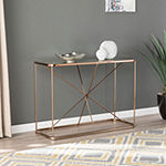 Olbir Art Deco Mirrored Console Table