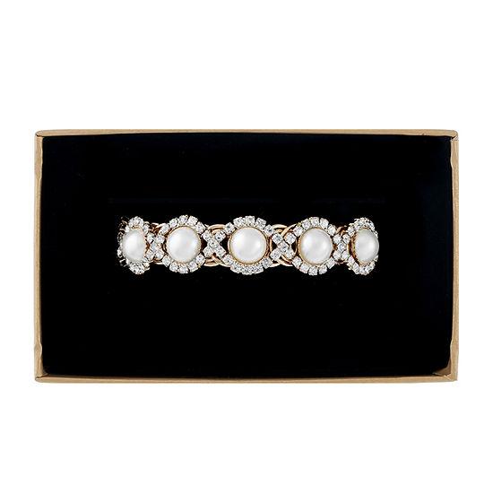 Monet Jewelry White Wrap Bracelet