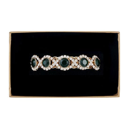 Monet Jewelry Green Wrap Bracelet