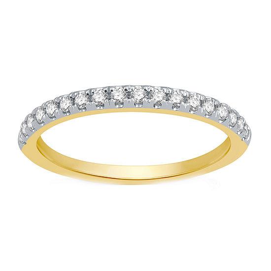 Ever Star 1/4 CT. T.W. Lab Grown White Diamond 10K Gold Band