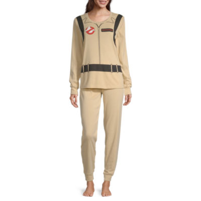 Ghostbusters Family Womens Pant Pajama Set 2-pc. Long Sleeve