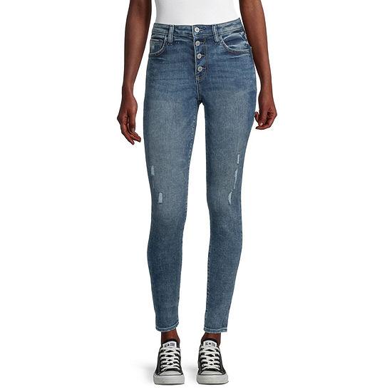 Arizona - Juniors Womens High Rise Skinny Fit Jean