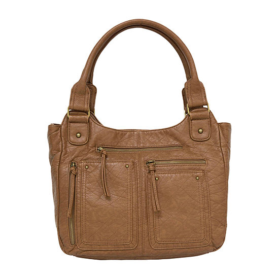 Bueno of California Washed Double Shoulder Bag