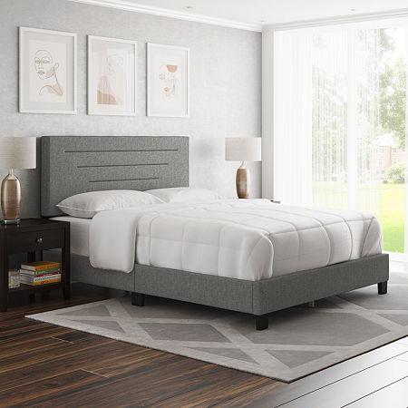 Corben Upholstered Tufted Bed