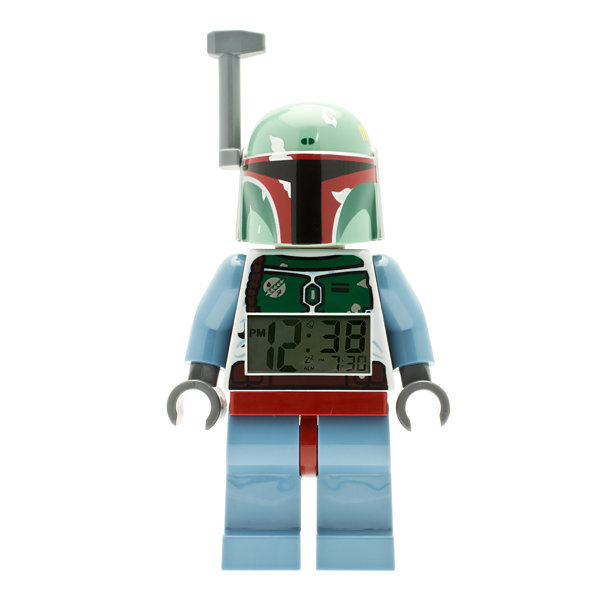 LEGO® Kids Star Wars Boba Fett Alarm Clock