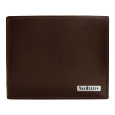 Van Heusen® Leather Passcase Wallet