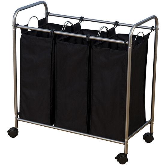 Household Essentials® Triple Laundry Sorter