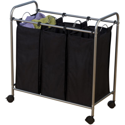Household Essentials® Triple Laundry Sorter