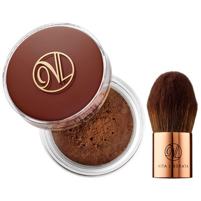 Vita Liberata Trystal™ Self Tanning Bronzing And Kabuki Brush Duo