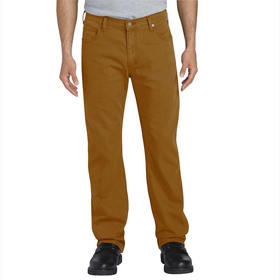 Dickies® FLEX Regular Fit Straight Leg Tough Max™ Duck 5-Pocket Pants