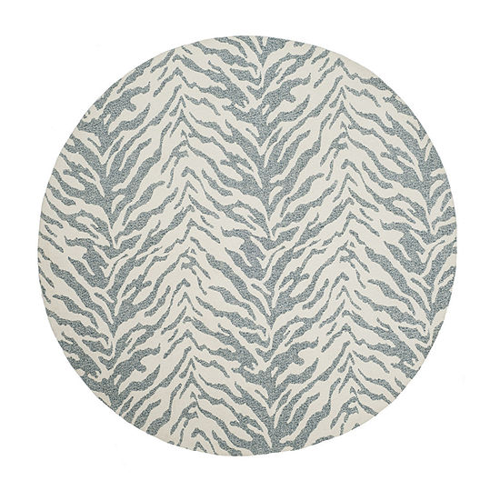 Safavieh Marbella Collection Anson Geometric RoundArea Rug