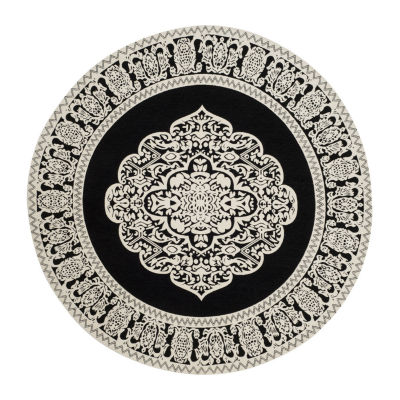 Safavieh Marbella Collection Joselyn Oriental Round Area Rug