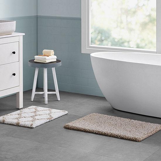 VCNY Ogee Marble 2-pc. Bath Rug Set
