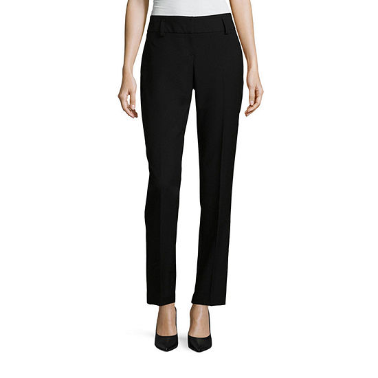 Worthington Perfect Straight Leg Modern Fit Straight Trouser