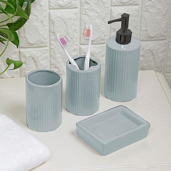 Ceramic 4-pc. Bath Accessory Set