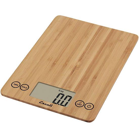 Escali® Arti Bamboo Digital Food Scale