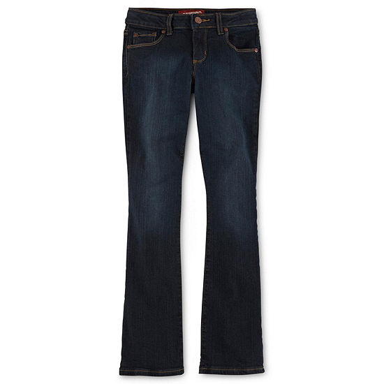 Arizona Girls Regular Fit Stretch Bootcut Jean