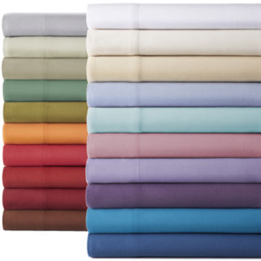 jcpenney.com | Micro Flannel® Solid Sheet Set