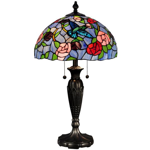 Dale TiffanyTM Hummingbird Table Lamp