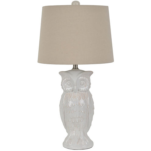 Owl Ceramic Table Lamp