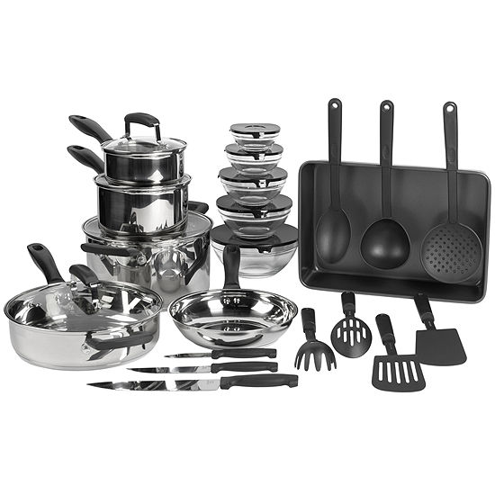 Philippe Richard 25 Pc Stainless Steel Cookware Set