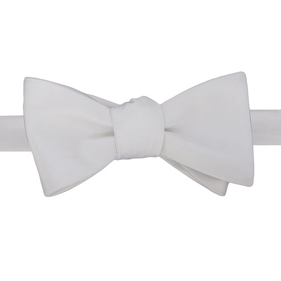 Stafford® Satin Solid Self-Tie Bow Tie