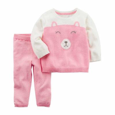 Carter's 2-pc. Stripe Pant Set Baby Girls