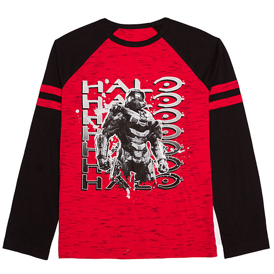 ba06c573 Boys Crew Neck Long Sleeve Graphic T-Shirt-Big Kid - JCPenney