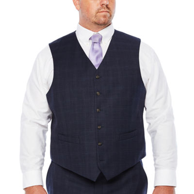 Stafford Woven Suit Vests Big and Tall