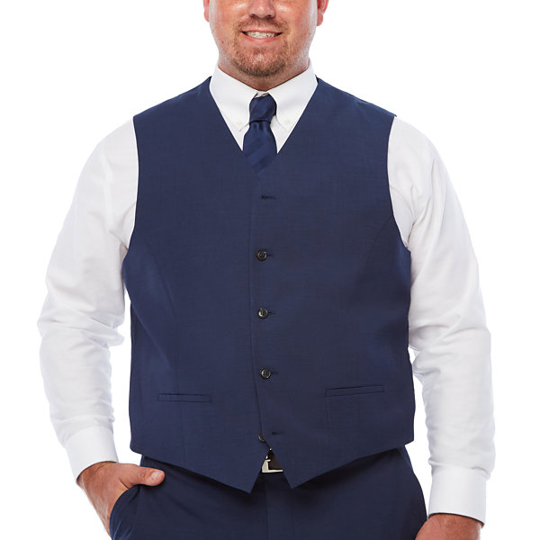 JF J.Ferrar Classic Fit Suit Vest - Big and Tall