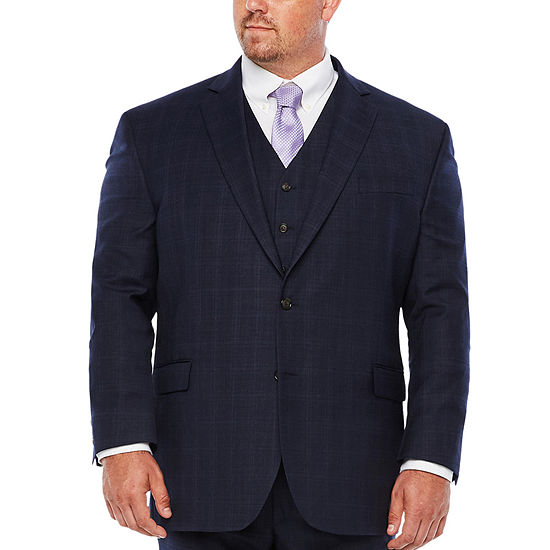 Stafford Woven Suit Jacket Big and Tall