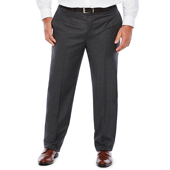 Collection by Michael Strahan  Striped Classic Fit Suit Pants - Big and Tall