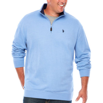 Us Polo Assn. Mock Neck Top Big and Tall