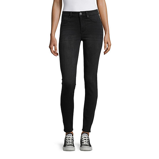 Almost Famous Womens High Waisted Skinny Jeggings - Juniors