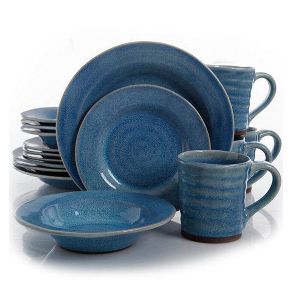 Stoneware Dinnerware Set  sc 1 st  JCPenney & Gibson Elite Mariani 16-pc. Stoneware Dinnerware Set - JCPenney