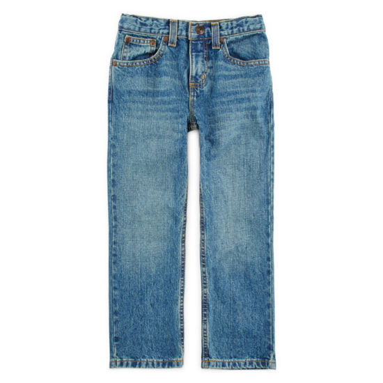 Arizona Relaxed Fit Jeans Preschool Boys 4-7, Slim & Husky