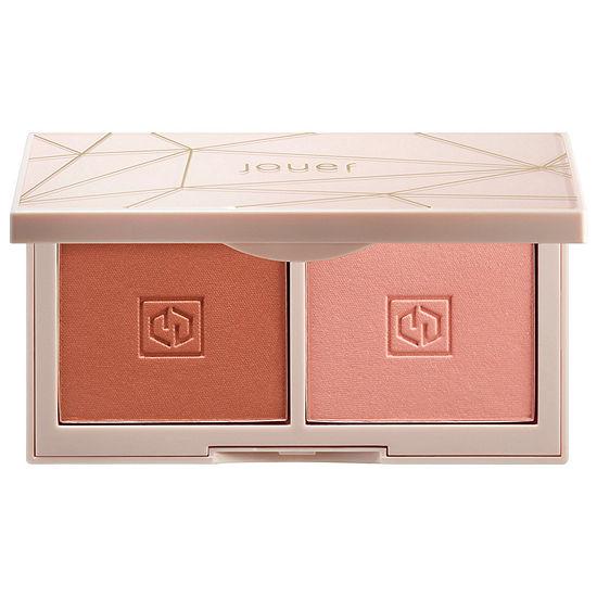 Jouer Cosmetics Rose Gold Blush Bouquet Dual Blush Palette Mini