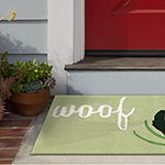 Liora Manne Frontporch Woof Hand Tufted Rectangular Indoor/Outdoor Rugs