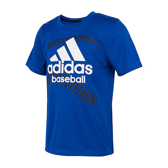adidas Little Boys Short Sleeve T-Shirt