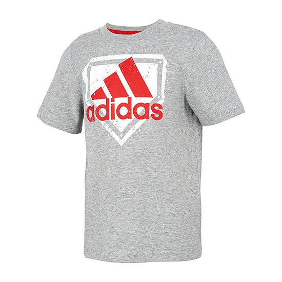 adidas Little Boys Short Sleeve T-Shirt